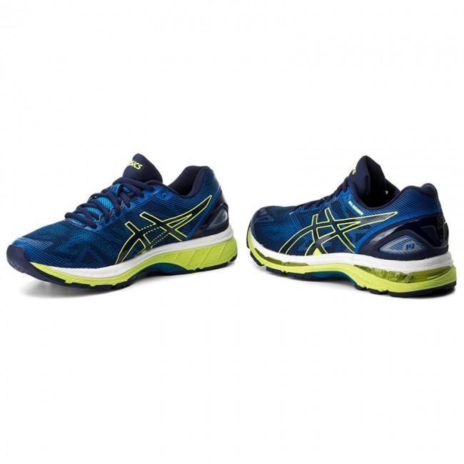 Shoes ASICS Gel Nimbus 19 T700N Indigo BlueSafety YellowElectric Blue 4907
