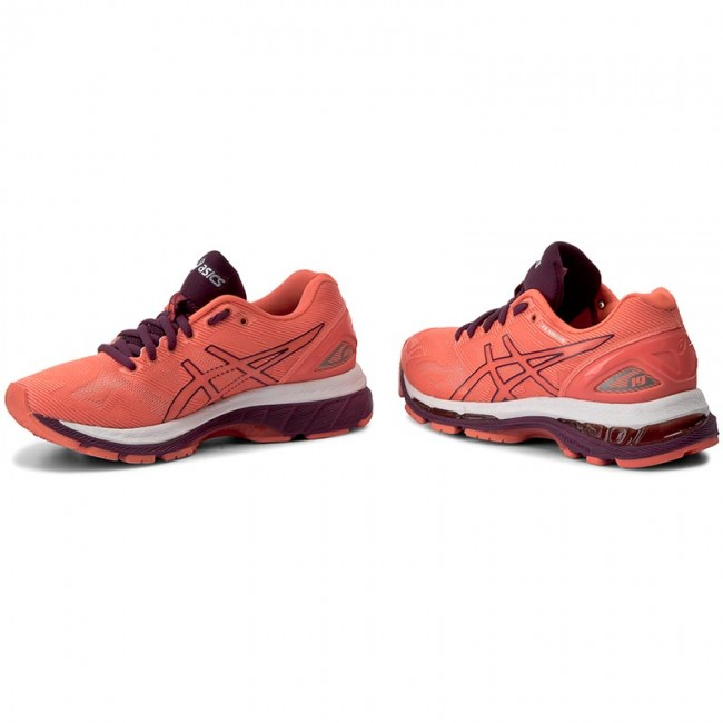 sports shoes 87c9a 96186 Shoes ASICS - Gel-Nimbus 19 T750N Flash Coral/Dark Purple/White 0632