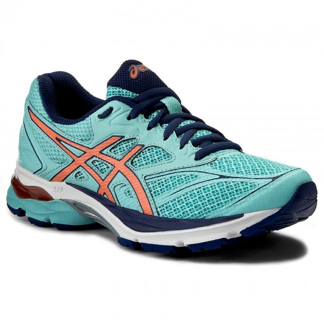 Shoes ASICS Gel Pulse 8 T6E6N Aqua SplashFlash CoralIndigo Blue 6706