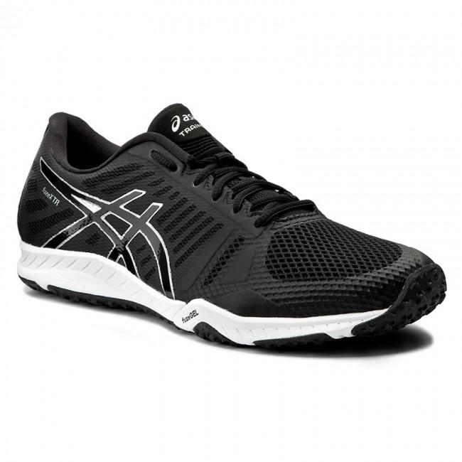 Shoes ASICS - FuzeX TR S613N Black/Onyx/Silver 9099