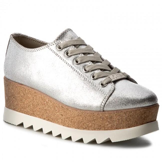 Dato Mismo recuperar  Shoes STEVE MADDEN - Korrie Sneaker 91000255-0S0-10001-14010 Silver  Metallic - Wedge-heeled shoes - Low shoes - Women's shoes | efootwear.eu