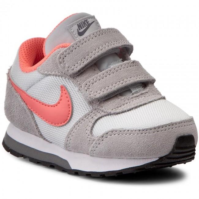2019 mejor nuevo baratas estilo clásico Shoes NIKE - Md Runner 2 (Tdv) 807328 007 Pure Platinum/Lava Glow ...