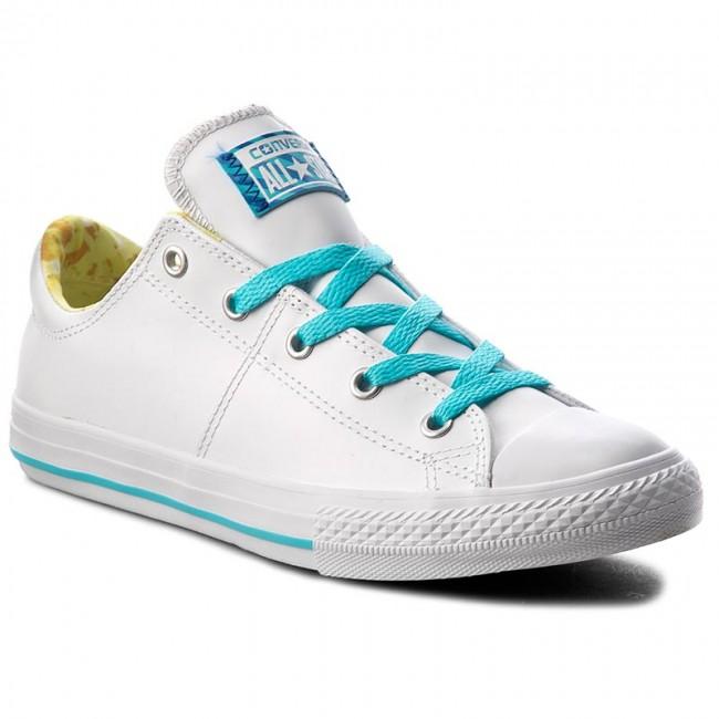 Sneakers CONVERSE Ctas Madison Ox 656091C WhiteLemon HazeFresh Cyan