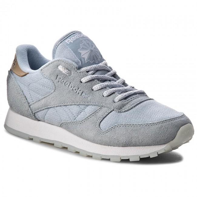 Lthr Worn Bd1510 Shoes Greywhite Sea Gable Reebok Cl ImYb76ygvf