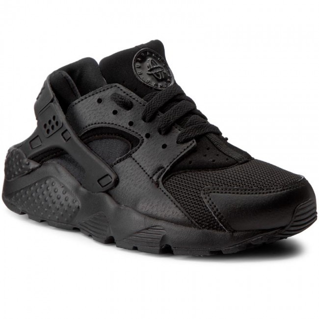 competitive price be5f3 fd5e0 Shoes NIKE - Huarache Run (GS) 654275 016 Black/Black/Black