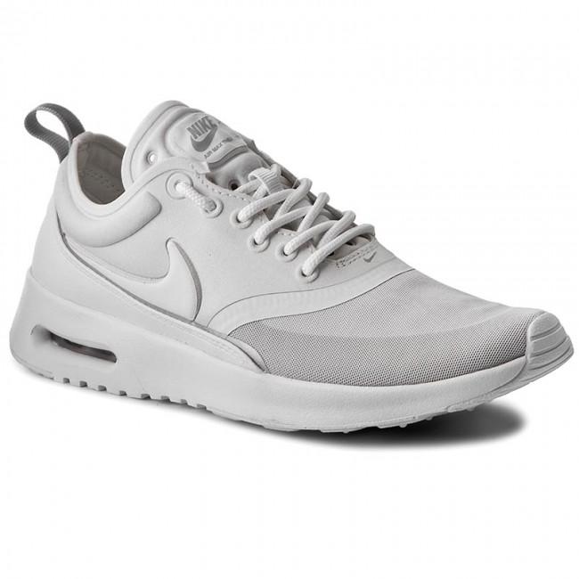 Shoes NIKE Air Max Thea Ultra 844926 100 WhiteWhiteMetallic Silver