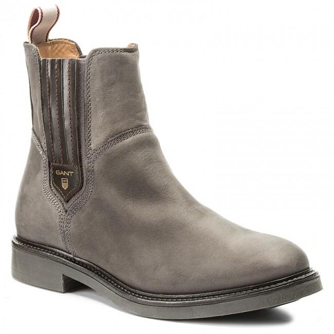15553121 Gray Asphalt G82 Ankle Boots Gant Ashley DWEH2e9IYb