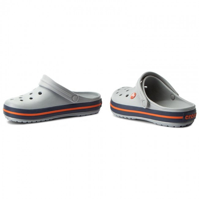Slides CROCS Crocband 11016 Light GreyNavy