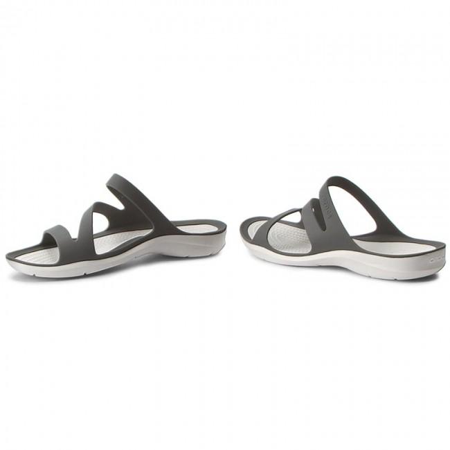 Crocs Women's Swiftwater Sandal Sandalen Pool White | W10 (US)