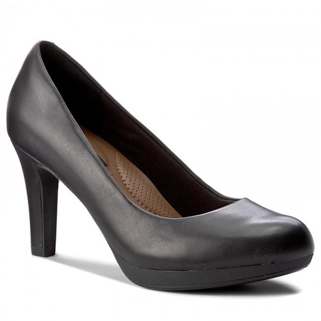Clarks Womens Adriel Viola Closed-Toe Pumps