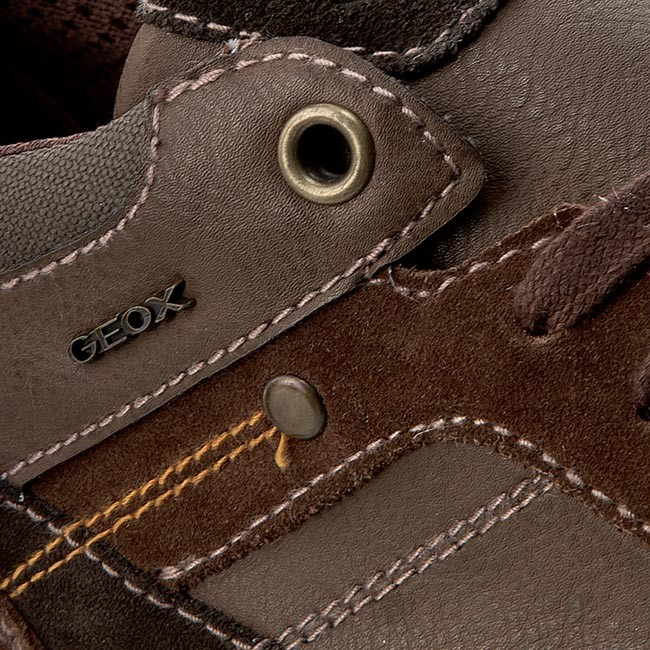 Sneakers GEOX U Box F U64R3F 022ME C9999 Schwarz