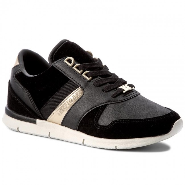offizieller Shop preiswert kaufen überlegene Materialien Sneakers TOMMY HILFIGER - Skye 1C3 FW0FW02023 Black 990