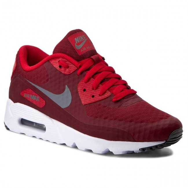 Shoes NIKE Air Max 90 Ultra Essential 819474 602 Team RedDk GreyUnv RdWhite