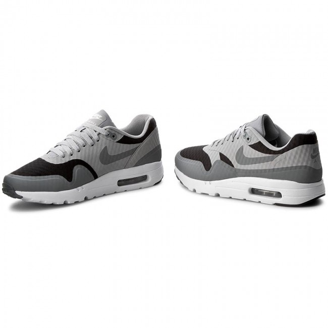 Shoes NIKE Air Max 1 Ultra Essential 819476 008 BlackCool GreyWolf Grey