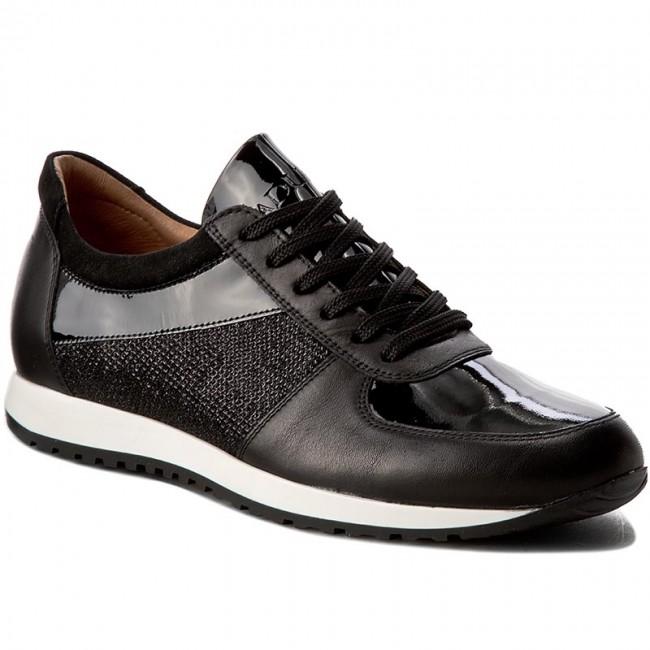 söt spetsar in rabatt Shoes BADURA - 6258-69 Czarny 132 - Flats - Low shoes - Women's ...