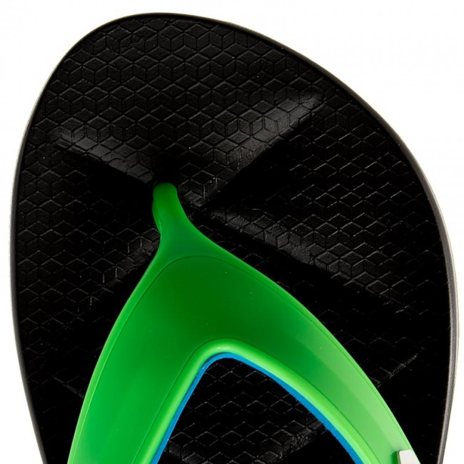 Slides Rider Easy Thong Ad 82026 Black Green Blue 23907