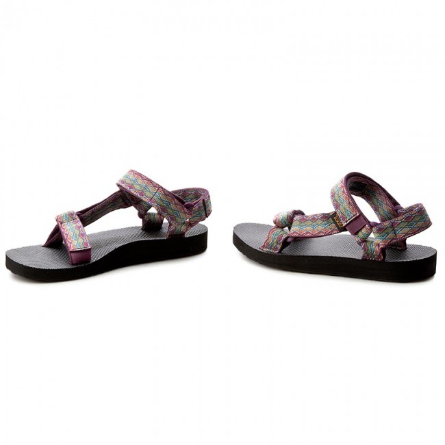ee6ecf8a Sandals TEVA - Original Universal 1003987 Miramar Fade Dark Purple Multi