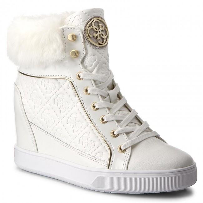 Sneakers GUESS - Fur FLFUR3 ELE12 WHITE