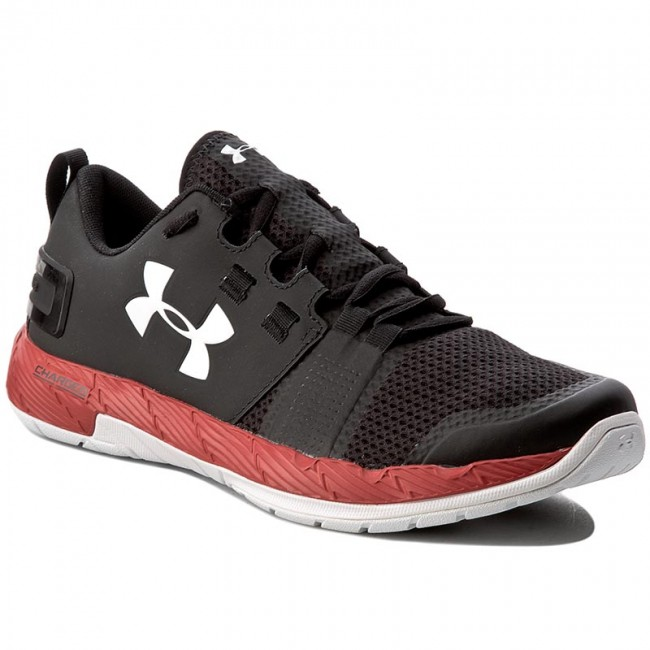 Shoes UNDER ARMOUR Ua Commit Tr 1285704 004 BlkRedWht