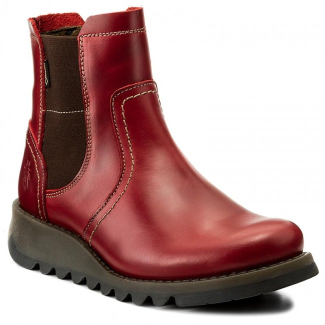 new concept 62d30 a94f3 Ankle Boots FLY LONDON - Sconfly GORE-TEX P144058004 Red