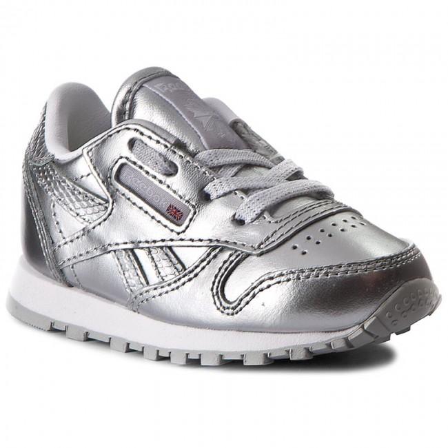 c766067b Shoes Reebok - Classic Leather Metallic BS7461 Silver/White