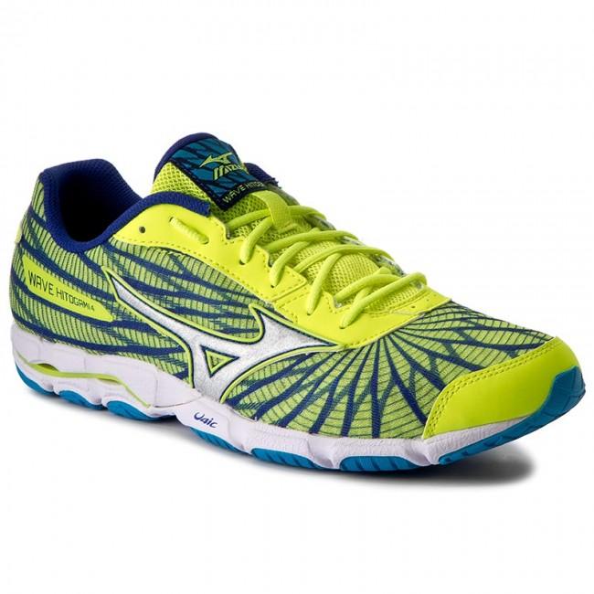 Adversario Interior Meseta  Shoes MIZUNO - Wave Hitogami 4 J1GC178004 Yellow - Indoor - Running shoes -  Sports shoes - Men's shoes | efootwear.eu