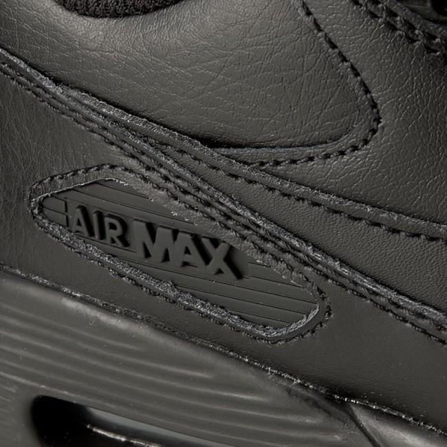 Air Max 90 Leather (GS) blackblack