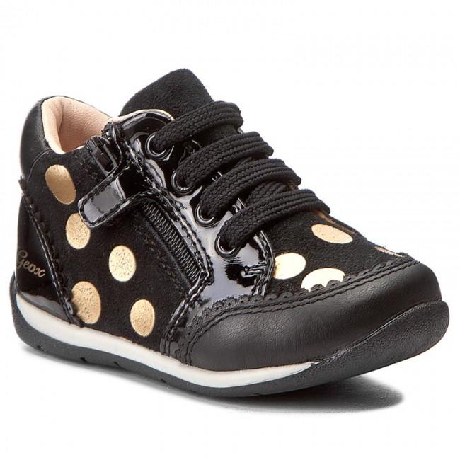Shoes GEOX B Each G. C B720AC 022HH C0503 BlackBronze