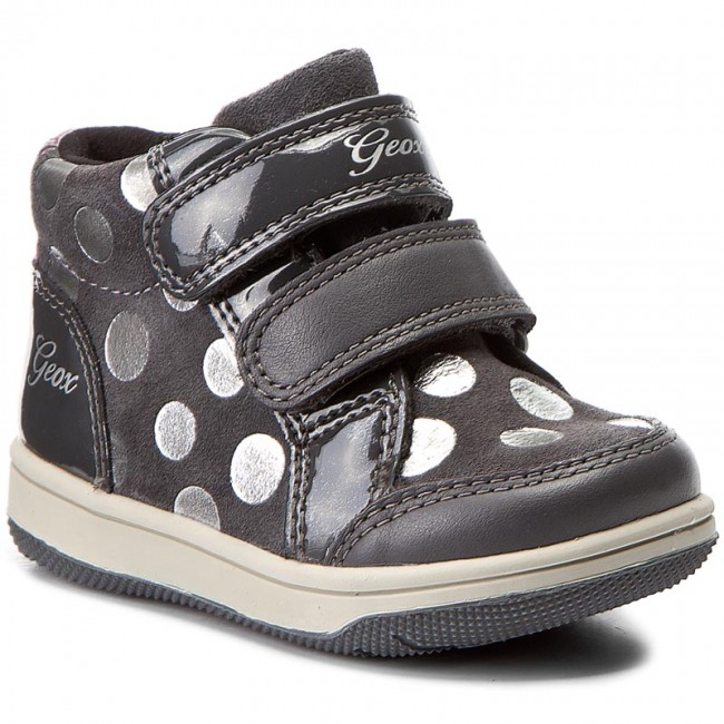 vestíbulo Macadán Alivio  Boots GEOX - B New Flick G.F B741HF 022HH C9002 Dk Grey - Boots - High  boots and others - Girl - Kids' shoes | efootwear.eu