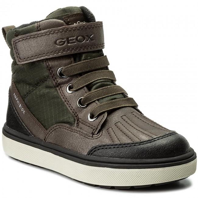Boots GEOX - J Matt.B Abx B J740DB 0MEFU C0960 Green/Brown