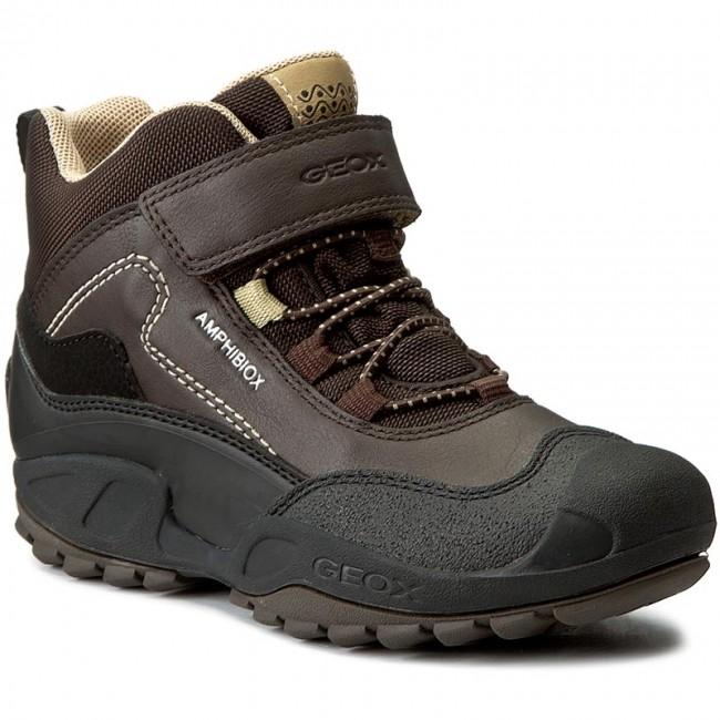 Boots GEOX - J N.Savage B.B Abx A J741WA 054FU C0021 Brown/Beige