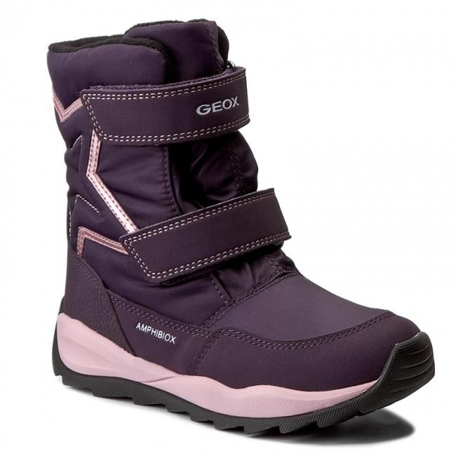 Snow Boots GEOX - J Orizont B G.Abx A J742BA 0FU50 C8015 Violet