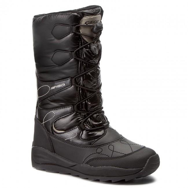 Snow Boots GEOX - J Prizont B G. Abx C J742BC 0FU50 C9999 Black