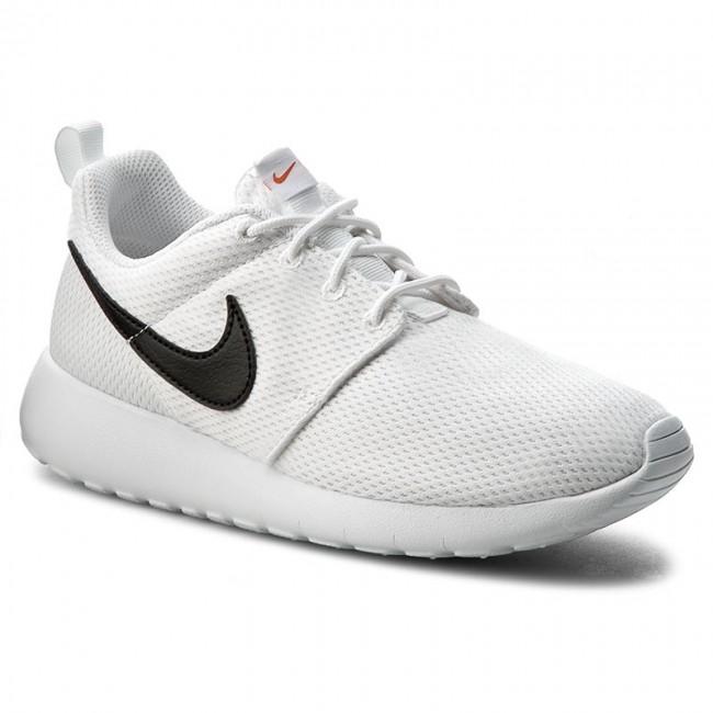 wyprzedaż w sklepie wyprzedażowym Kod kuponu amazonka Shoes NIKE - Roshe One (GS) 599728 101 White/Black/Safety Orange