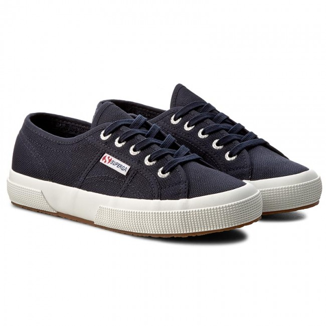 plimsolls superga 2750 cotu classic s000010 navy fwhite f43 sneakers low shoes women 39 s. Black Bedroom Furniture Sets. Home Design Ideas