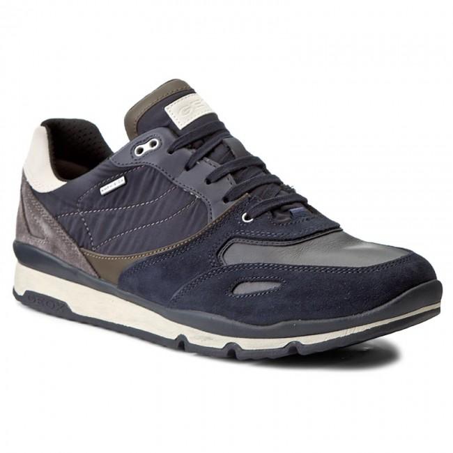 Sneakers GEOX - U Sandfors B Abx A U44S7A 022FU C0718 Navy/Dark Grey