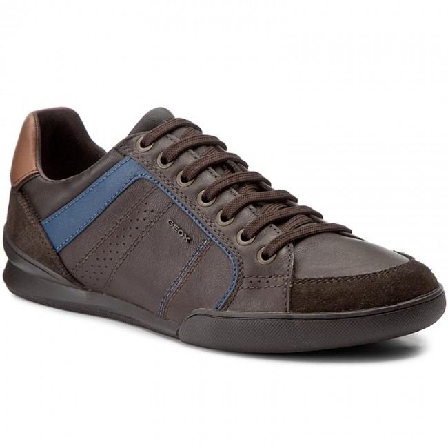 Shoes GEOX - U Kristof A U620EA 08522 C6M6T Coffee/Dk Coffee