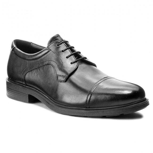 Shoes GEOX - U Dublin C U64R2C 00043 C9999 Black