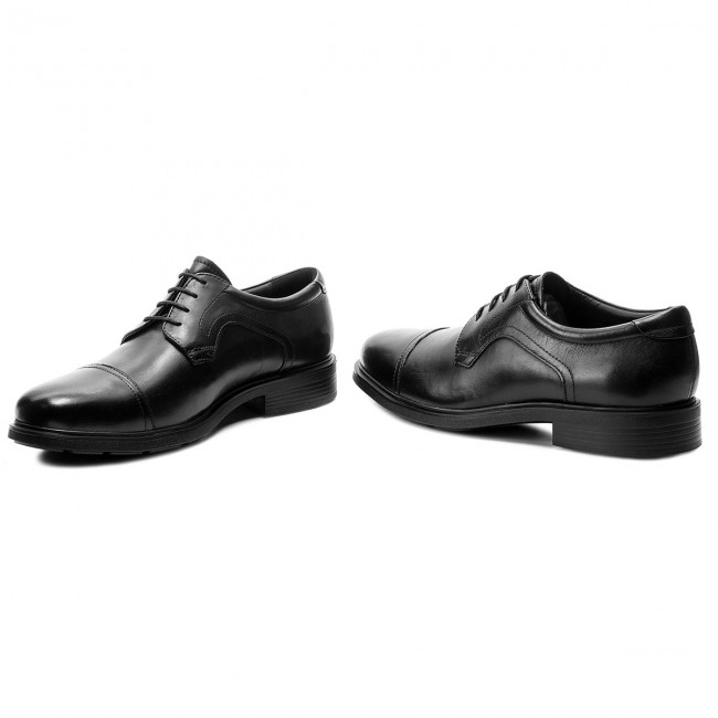 cheap for discount 0a9c0 cc9af Shoes GEOX - U Dublin C U64R2C 00043 C9999 Black