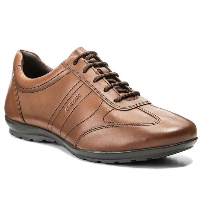 schnüren in 2019 Ausverkauf Markenqualität Shoes GEOX - U Symbol B U74A5B 00043 C6001 Cognac