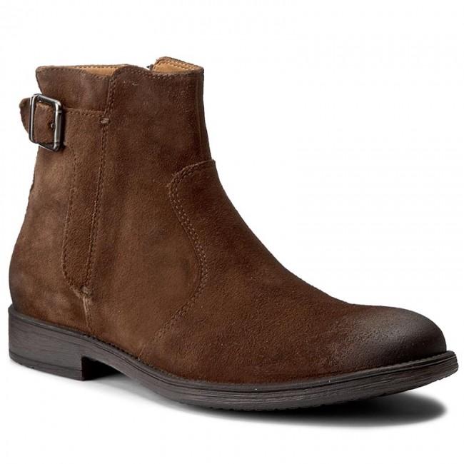 Knee High Boots GEOX - U Jaylon A U74Y7A 00022 C6027 Ebony