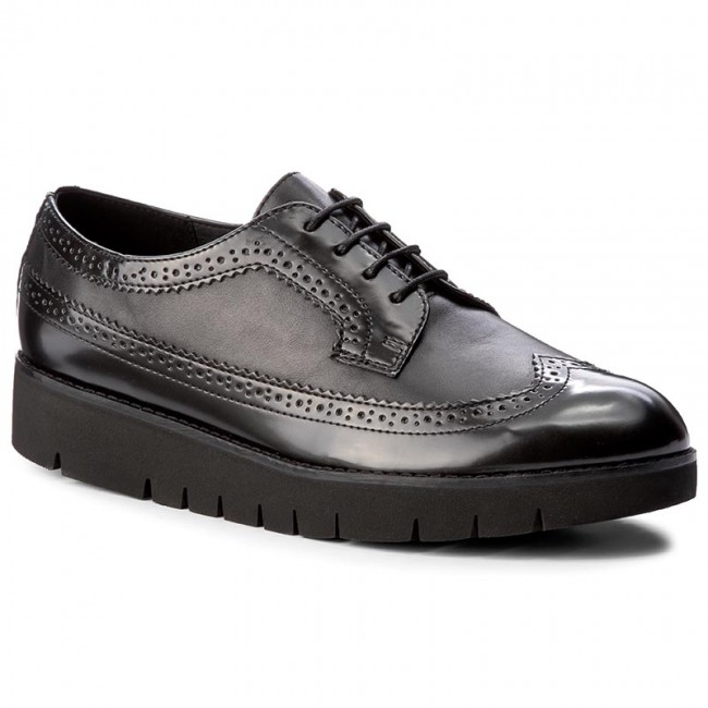 Oxfords GEOX - D Blenda C D540BC 043BC C9999 Black