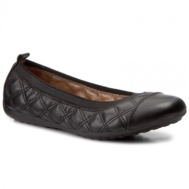 Finito Plaga Asesorar  Flats GEOX - D Piuma Bal A D54D8A 000BC C9999 Black - Ballerina shoes - Low  shoes - Women's shoes | efootwear.eu