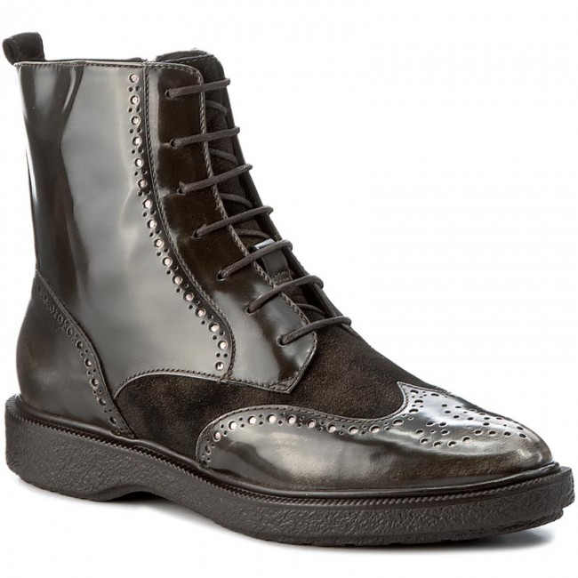 Boots GEOX - D Prestyn A D745WA 038PV C6024 Dk Coffee