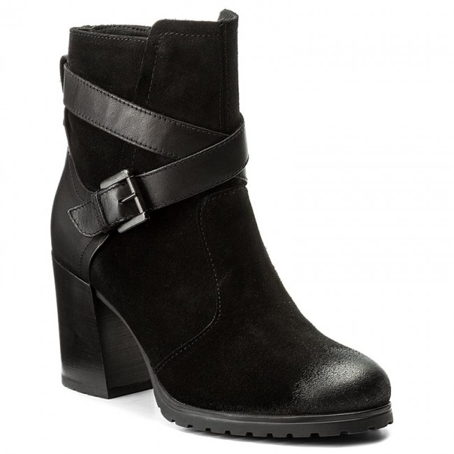 perturbación loco digestión  Boots GEOX - D New Lise H.A D746UA 0CS43 C9999 Black - Boots - High boots  and others - Women's shoes   efootwear.eu