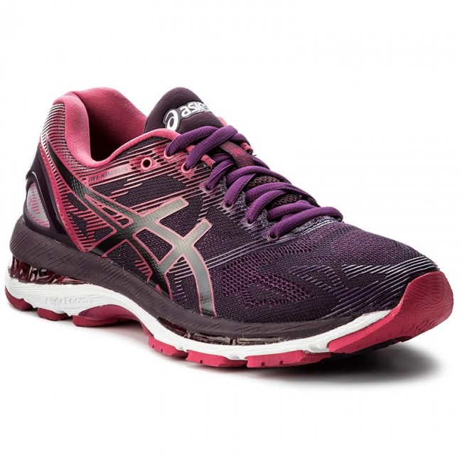 arrives 6432f 1f4fd Shoes ASICS - Gel-Nimbus 19 T750N Black/Cosmo Pink/Winter Bloom 9020