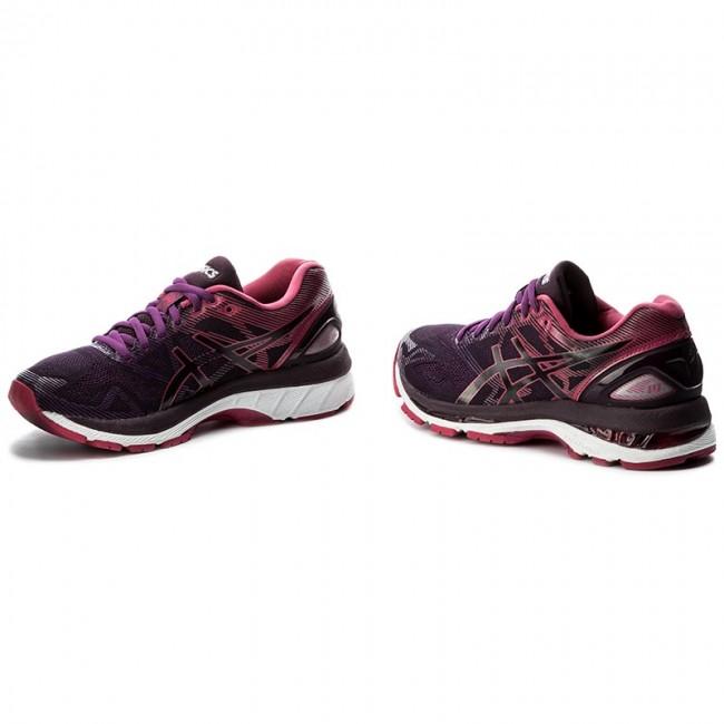 Shoes ASICS Gel Nimbus 19 T750N BlackCosmo PinkWinter Bloom 9020
