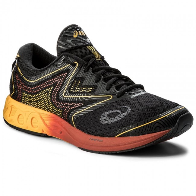 poco claro Usual Suministro  Shoes ASICS - Noosa Ff T722N Black/Gold Fusion/Red Clay 9004 - Indoor -  Running shoes - Sports shoes - Men's shoes | efootwear.eu