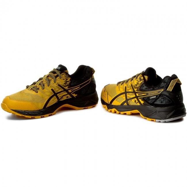 Shoes ASICS Gel Sonoma 3 G Tx GORE TEX T727N Gold FusionBlackMid Grey 0490