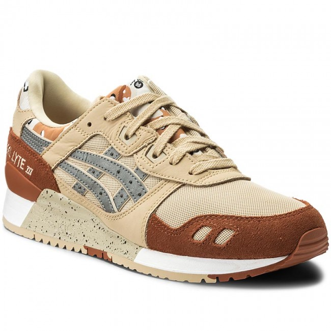newest 06258 ba911 Sneakers ASICS - TIGER Gel-Lyte III H7Y0L Marzipan/Silver 0593